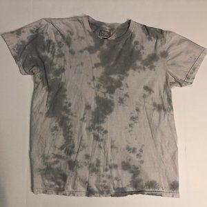 White & Grey Tie-Dye T-Shirt